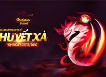 Khai mở server Huyết Xà, Đại Thánh Vương tặng GiftCode giá trị đến người chơi