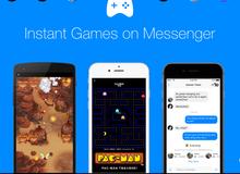 """Facebook ra mắt tính năng """"Instant Games"""", cho phép người dùng chơi game ngay trên Messenger"""