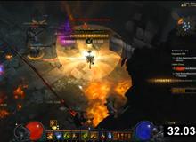 Lên max cấp Diablo III trong thời gian cực nhanh chỉ 33 giây