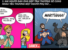 Truyện tranh hài - Những điểm giống nhau giữa Batman V Superman và một bộ phim tình cảm hài