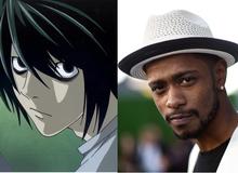 """Fan dậy sóng vì Death Note phiên bản Mỹ có """"L"""" là người... da đen"""