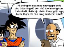 Son Goku chắc chắn sẽ không được nuôi con ở ngoài đời thực