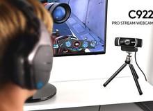 Đánh giá Logitech C922 - Webcam tuyệt vời nếu bạn muốn trở thành Youtuber chơi game giống Pewdiepie