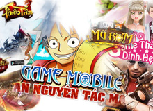 Những game mobile online đã ra mắt tại Việt Nam trong tháng 3/2017
