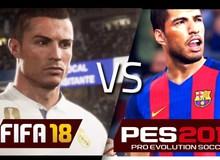 So sáng đồ họa PES 2018 và FIFA 18, bạn thích tựa game nào hơn?