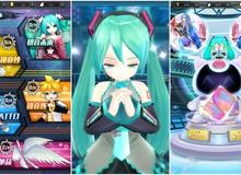 Hatsune Miku Mobile - Game 3D dành cho mọi fan của thần tượng ảo số 1 Nhật Bản