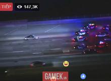 Hot: Hơn 150.000 người xem live stream cảnh sát truy đuổi kẻ giết người như trong GTA trên Facebook