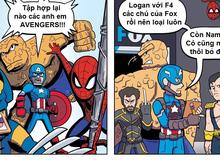 Sự khác nhau giữa truyện tranh và phim siêu anh hùng Marvel