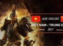 Công bố danh sách game thủ tham dự giải AOE Việt Trung 2017: Xuất hiện truyền nhân của Chim Sẻ Đi Nắng?