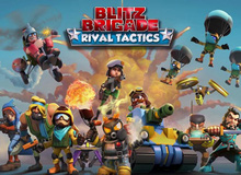Tải ngay Blitz Brigade: Rival Tactics - Game chiến thuật kiểu Clash Royale từ Gameloft