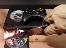 """Chiêm ngưỡng sức mạnh của """"dao găm lửa"""" trước nạn nhân xấu số Xbox 360"""