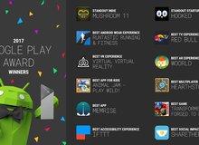 Google công bố giải thưởng App và Game hay nhất 2017 trên Android