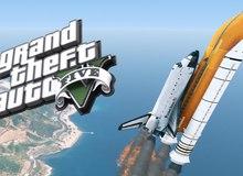 Sau 4 năm, cuối cùng GTA V đã cho người chơi bay hẳn vào vũ trụ