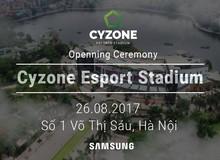 """Lộ diện ngày khai trương """"sân vận động"""" dành riêng cho game thủ Cyzone eSport Stadium"""