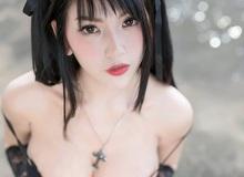 """Chảy máu mũi với cosplay Misa Amane """"ngực đầy"""" trong Death Note"""