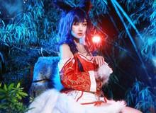 Ngắm cosplay Hồ Ly Ahri tuyệt đẹp trong Liên Minh Huyền Thoại