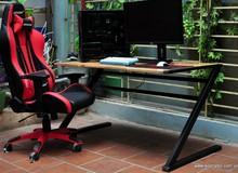 Hết ghế chơi game, người yêu PC tại Việt Nam chuyển sang sắm cả bàn chơi game độc đáo