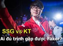 """[Trực Tiếp Playoffs LCK] KT vs SSG - Ai sẽ """"đủ trình"""" gặp Faker?"""