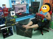 Em bé 10 tuổi tại Sài Gòn sở hữu dàn máy chơi game khủng khiến các anh các chú phải ghen tị