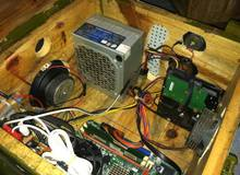 Bái phục anh chàng người Việt tự chế case máy tính từ thùng đạn gỗ