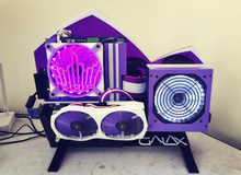 Bá đạo anh chàng người Việt dựng máy tính tuyệt đẹp để... tán gái