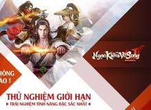 Game Client Ngạo Kiếm Vô Song 2 mở cửa thử nghiệm tại Việt Nam ngày 15/09