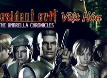 Việt hóa thành công Resident Evil: The Umbrella Chronicles, game thủ có thể tải và chơi ngay bây giờ