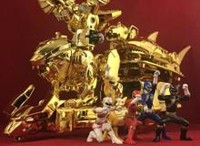 Lại thêm một bộ mô hình siêu nhân Gao 'khủng' về Việt Nam, phiên bản siêu hiếm giá 86,6 triệu đồng