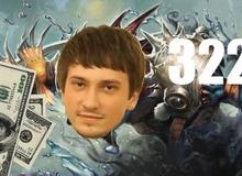 """Con số """"322"""" huyền thoại lại một lần nữa xuất hiện trong sự nghiệp của game thủ DOTA 2 nổi tiếng Alexei """"Solo"""" Berezin"""