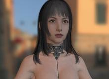 Fan hack Final Fantasy XV, phát hiện ra mô hình nhân vật không mặc gì