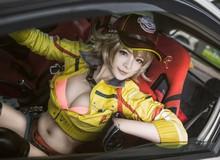 Mắt tròn mắt dẹt với cosplay mỹ nữ sửa xe nóng bỏng trong Final Fantasy XV