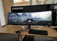 Samsung ra mắt màn hình 49-inch rộng nhất từ trước đến nay, giá chỉ hơn 30 triệu