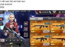 Game thủ Việt thi nhau bán acc CF Mobile Trung Quốc để chờ bản Việt