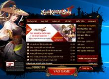 Ngạo Kiếm Vô Song 2 tặng giftcode trải nghiệm game chứa 10,000 Nguyên Bảo