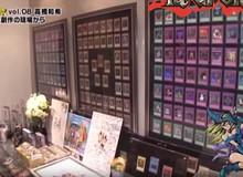 Đến thăm căn phòng đã sản sinh ra những lá bài ma thuật Yu-Gi-Oh mà hàng triệu người yêu mến