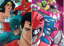 Batman, Super Man và 5 Anh Em Siêu Nhân chính thức sát cánh với nhau trong comic