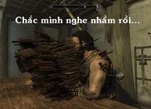 """Hành động lén lút - phong cách """"lố bịch"""" nhất làng game và đỉnh cao là Skyrim"""