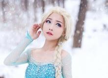Cùng ngắm Nữ Hoàng Băng Giá Elsa tuyệt đẹp ngoài đời thật