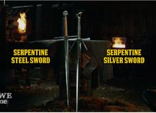 Cùng theo dõi quá trình tạo ra hai thanh kiếm cực chất trong Witcher 3