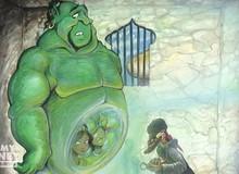Bạn có biết Thần đèn trong Aladdin nguyên gốc có màu... xanh lá cây?