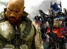 The Rock có thể sẽ sát cánh cùng robot... Transformers trong G.I.Joe 3