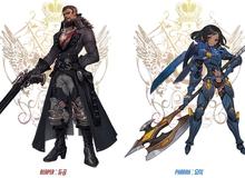 Sẽ ra sao khi các hero Overwatch được vẽ giống với nhân vật của series game Mộc Đế nổi tiếng?
