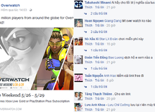 Game thủ Việt 'khủng bố' fanpage Overwatch SEA sau thông báo miễn phí cuối tuần