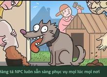 Hóa ra cuộc đời của loài chó cũng chẳng khác nào một tựa game