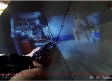 """Chiếc ô """"thần thánh"""" sẽ trở lại và lợi hại hơn trong Kingsman 2, một Youtuber đã thử chế tạo nó và kết quả thật bất ngờ"""