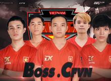 Đột Kích tặng 200 giftcode, đồng hành cùng đội tuyển Việt Nam mở màn trong tại giải đấu CFSI 2017