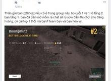 PUBG Việt Nam: Thỏa thuận solo đấm nhưng bị đối thủ dùng súng bắn chết, nam game thủ nhận được bài học về sự... tin người