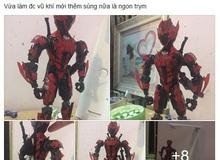 Bạn trẻ Việt bỏ 1 tuần tự cắt giấy làm mô hình nhân vật game cực đỉnh