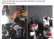 Quán game quá vắng, một chủ net Việt mở dịch vụ lau xe cho khách đến chơi