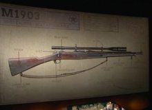Call of Duty: WWII lộ loạt hình ảnh về vũ khí, có loại súng trang bị ống ngắm dài bằng cả thân